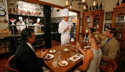 what are luxury dining choices at disney world like victoria & albert's
