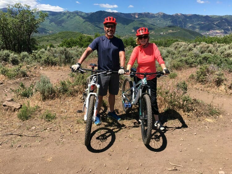 is mountain biking one of the recommended summer activities in deer valley