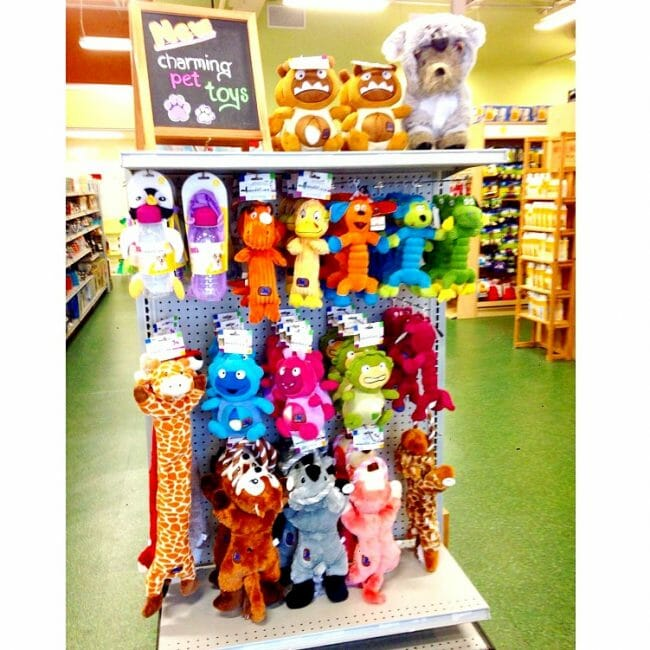 are toys by Charming Pet Products some of the products for pets you'll love