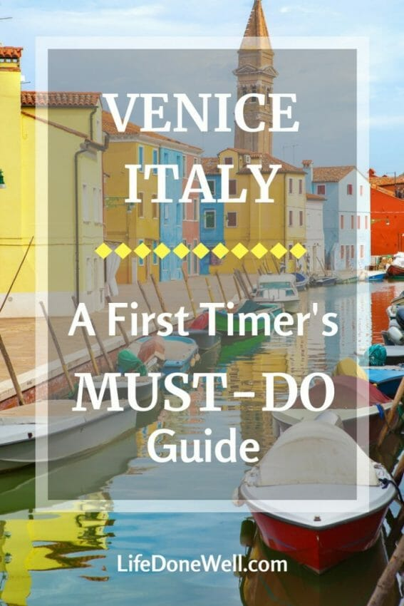 what are some items on a must-do guide to venice