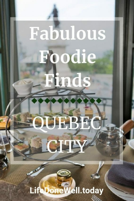 what are some favorite foodie finds in quebec city