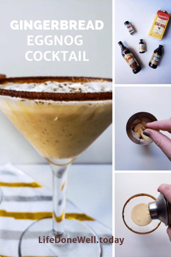 gingerbread eggnog cocktail recipes
