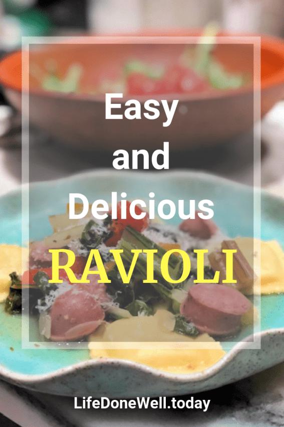 easy and delicious ravioli recipe
