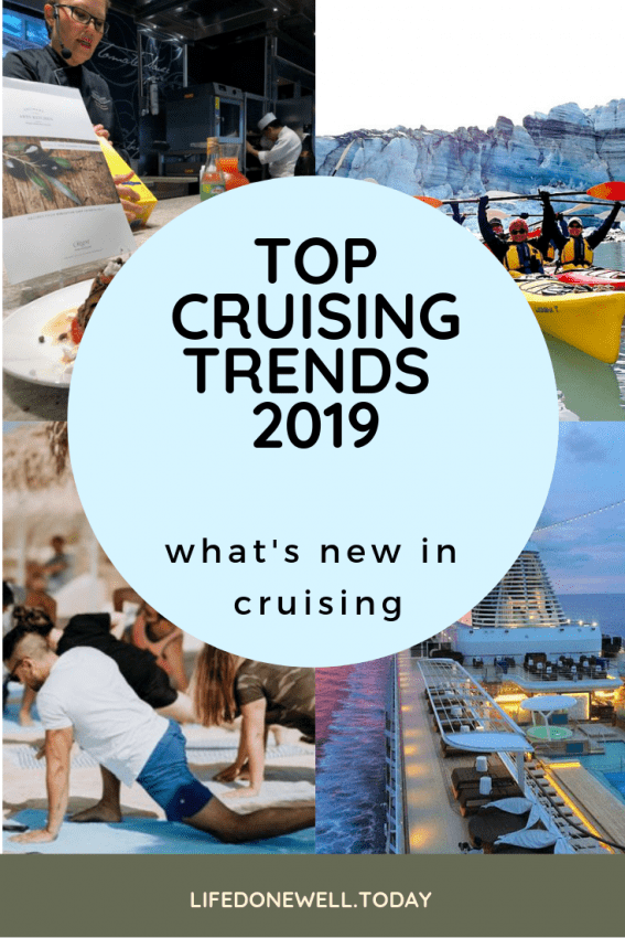 what are the top cruising trends for 2019