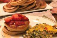 Breakfast for Dinner: Protein-Filled Krusteaz Pancakes