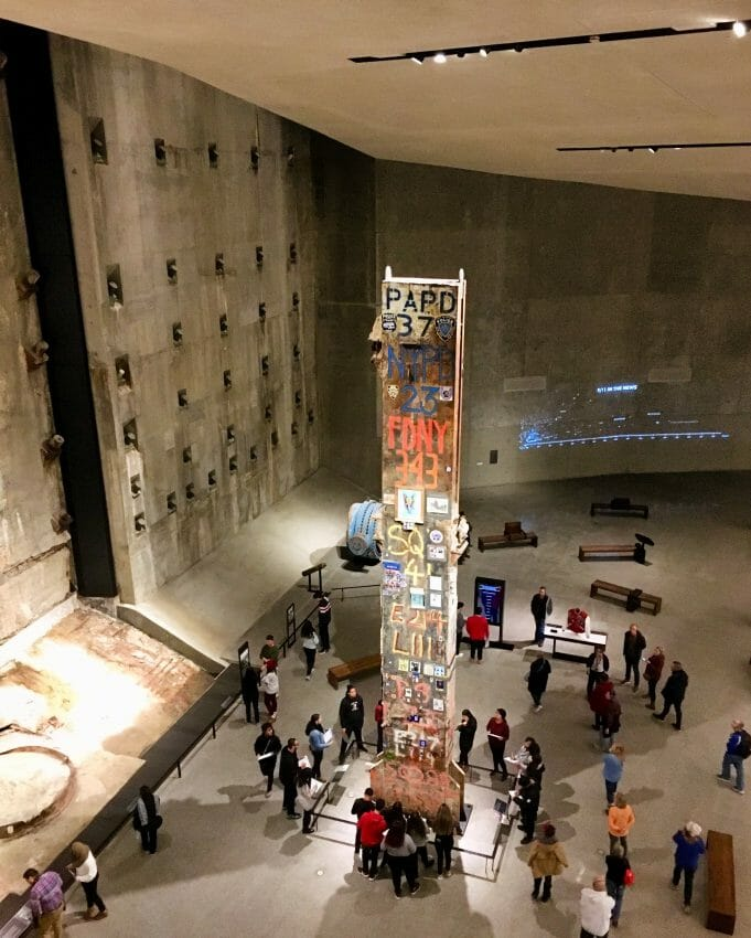 visit the 9/11 memorial museum exhibit if you have 2 days in tribeca