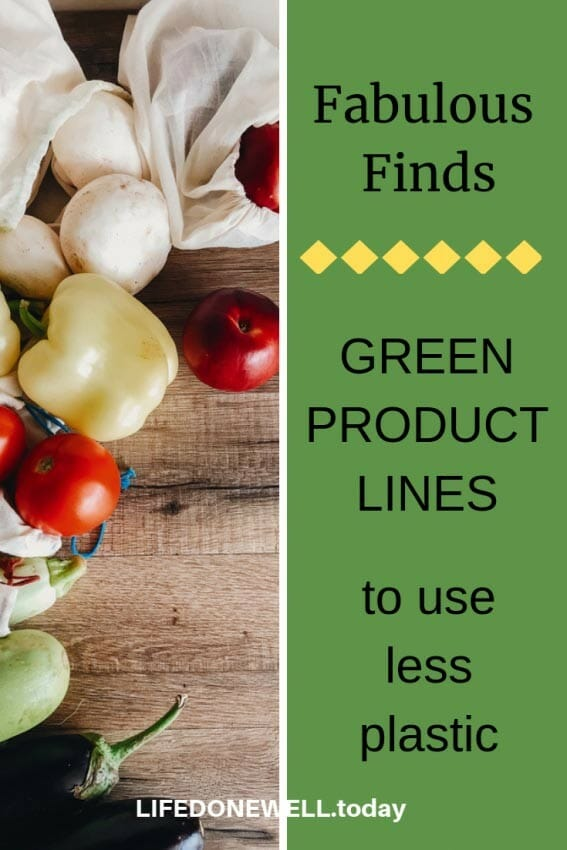 fabulous finds green product lines to use less plastic