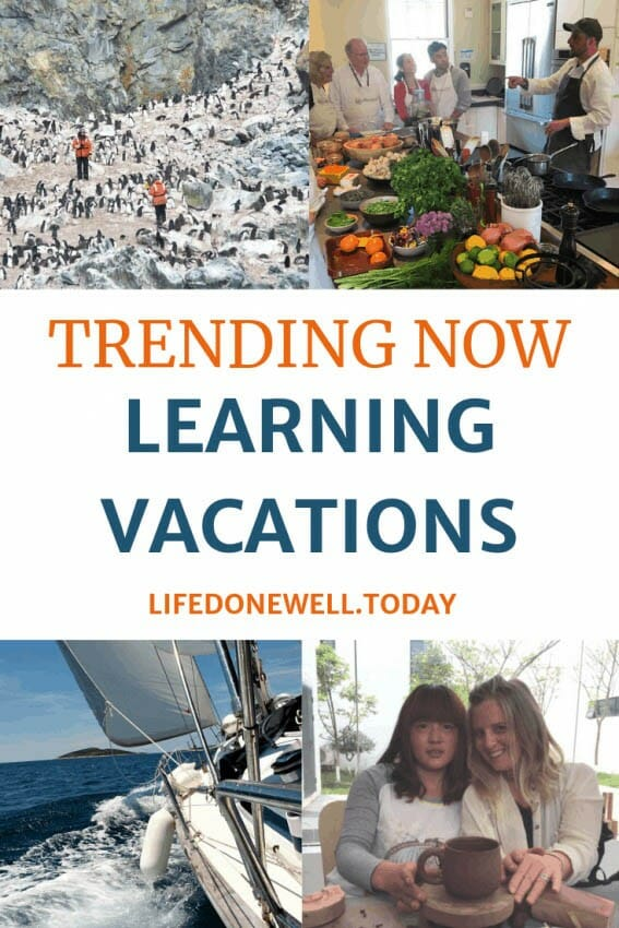 what are cool ways to learn a new skill on vacation