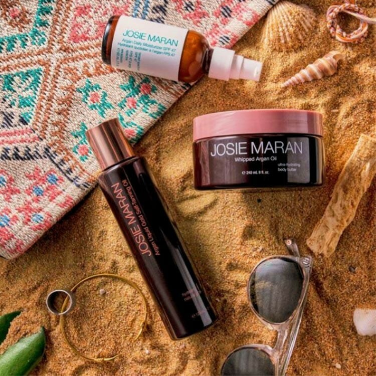josie maran sun products are favorite green product lines