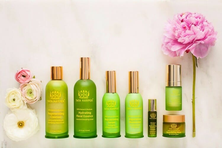 products from tata harper green product lines