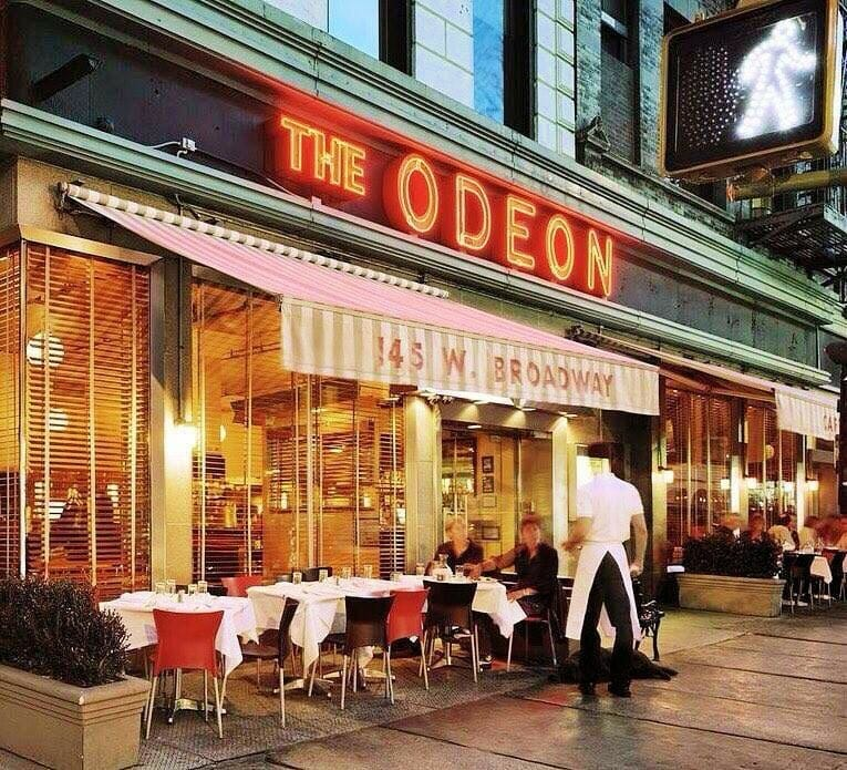 the odeon restaurant in tribeca