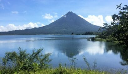 arenal lake is one of the reasons to love costa rica