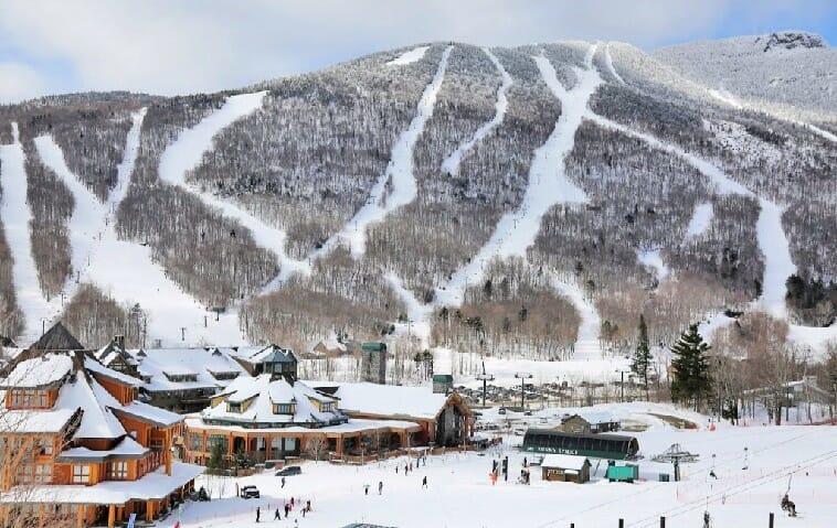 east coast ski resorts like stowe, vermont