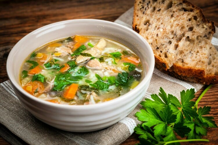 easy to make comfort food recipes like chicken noodle soup