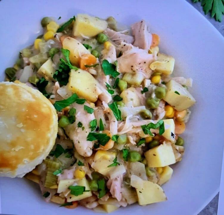 chicken pot pie is a comfort food recipe