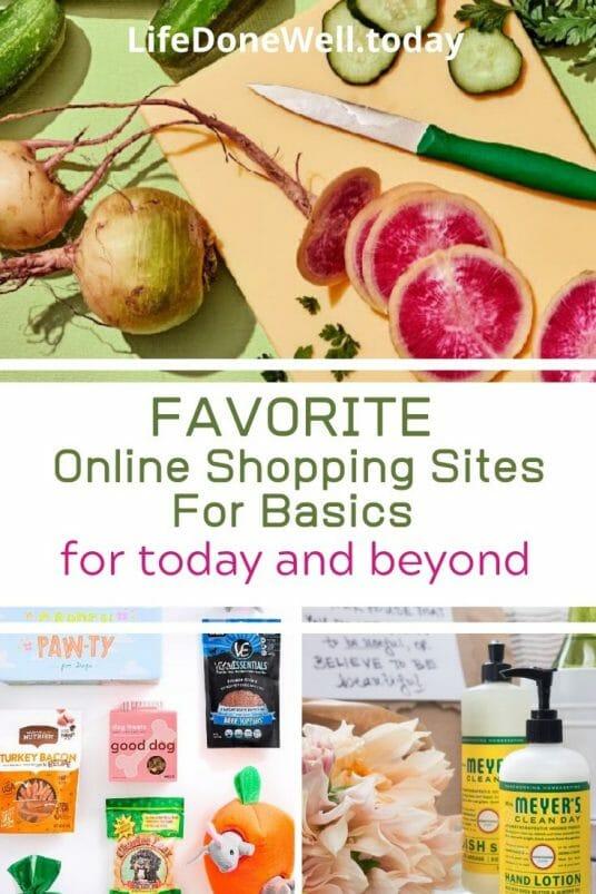 online shopping sites for basics