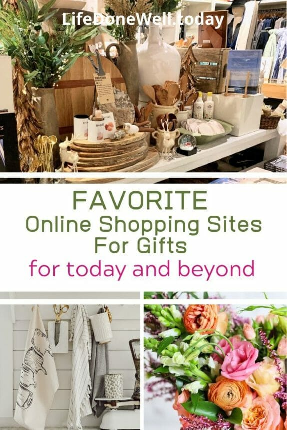 online shopping sites for gifts