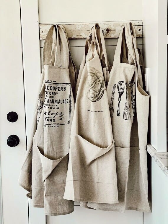 liz marie blog aprons PCP home collection