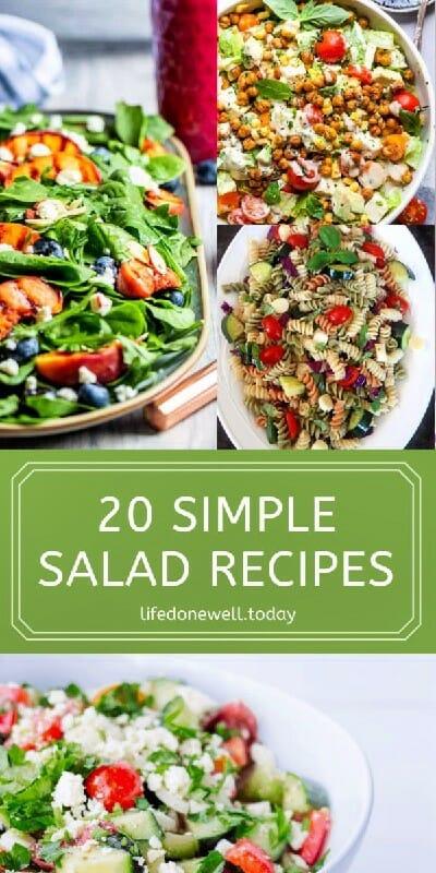 20simple salad recipes