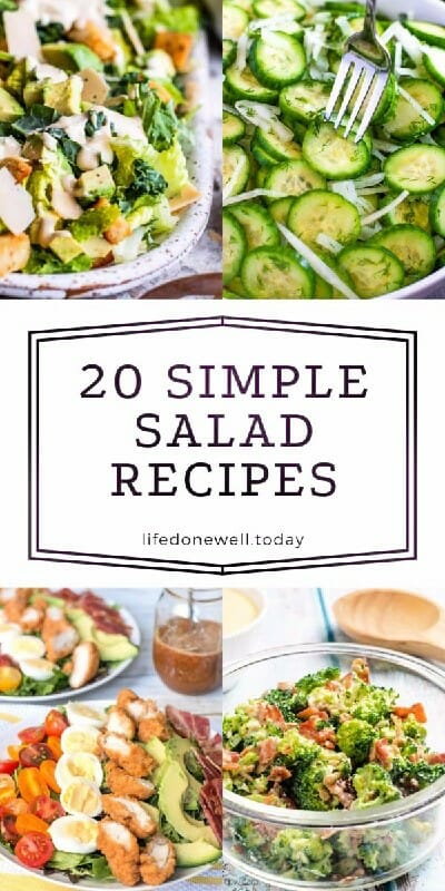 20 simple salad recipes for summer