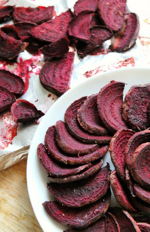 bbq beet fries as veggie side dishes