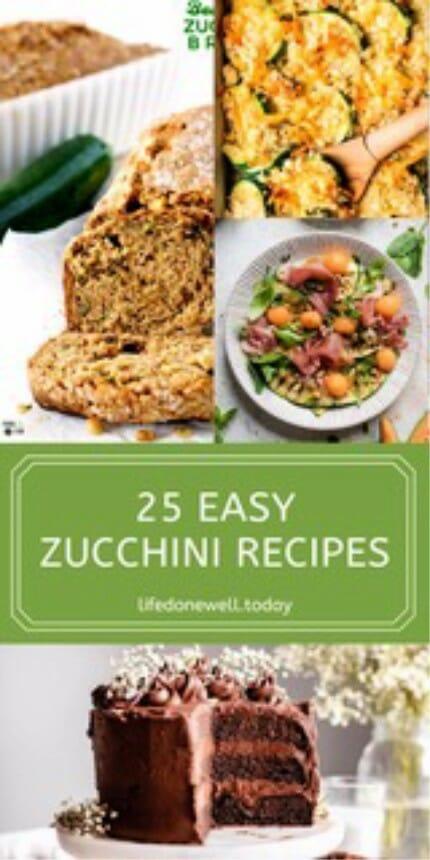 25 easy zucchini recipes