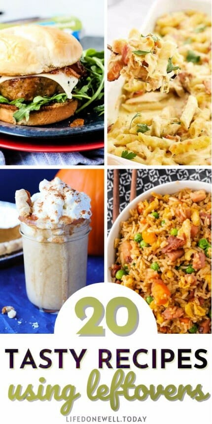 tasty recipes to use leftovers