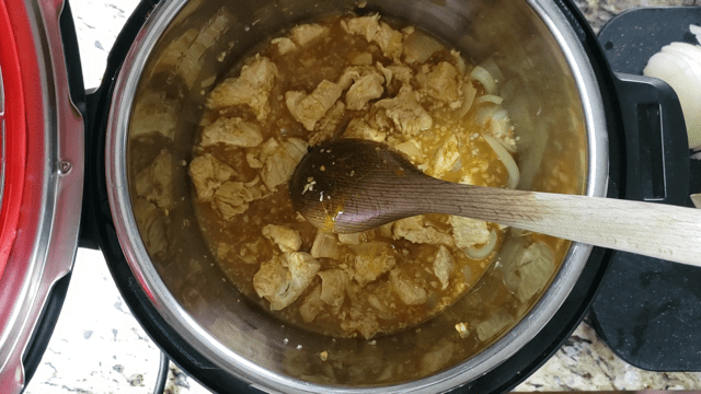 Instant Pot Turkey Turmeric Stir Fry