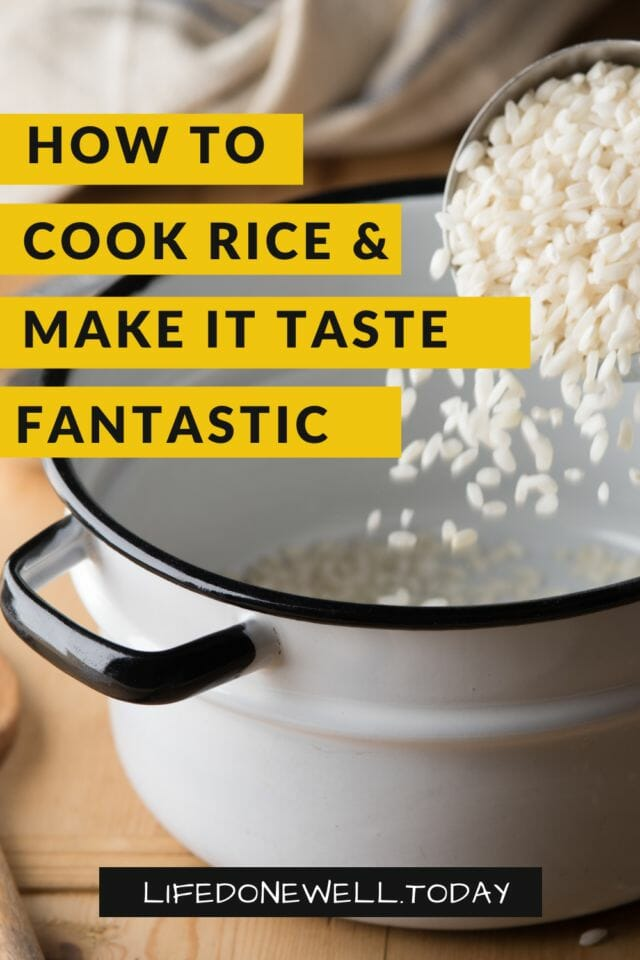 Learn how to cook rice and make it taste delicious.