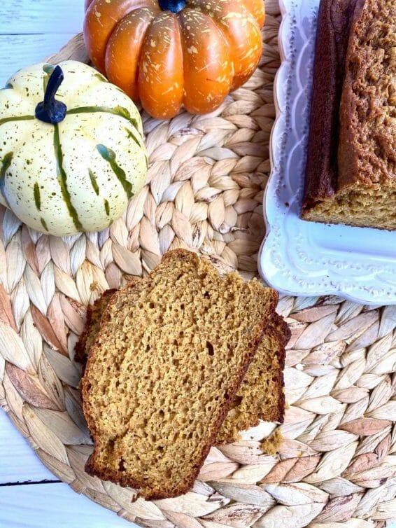 the go-to pumpkin bread recipe