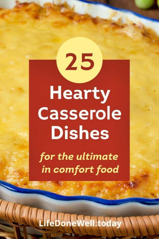 hearty casserole recipes