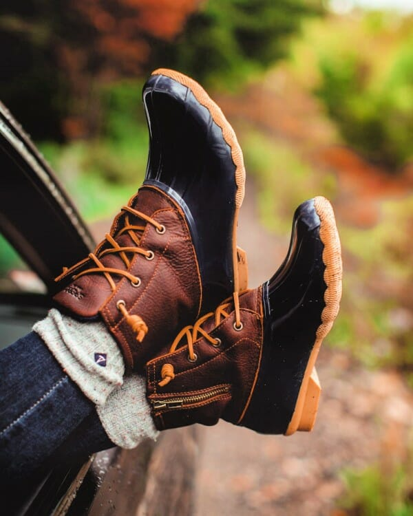 sperry rain boots are one of the perfect gifts for gardeners