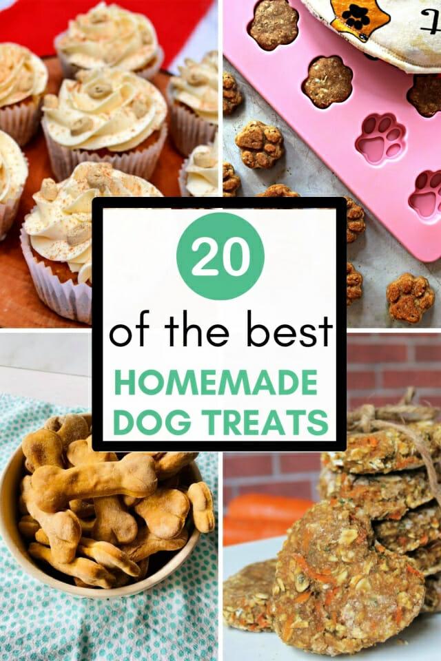 best homemade dog treats