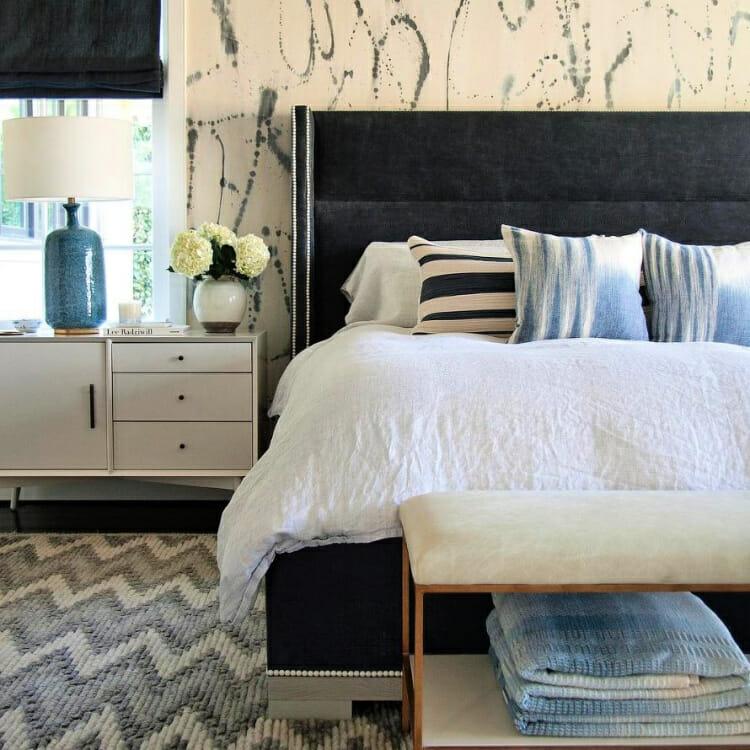 good sleep hygiene habits including a bedroom oasis
